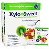 Xlear - XyloSweet All Natural Low Carb Xylitol Sweetener - 100 Packet(s)