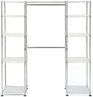 Muscle Rack EZGR551472 Expandable Closet/Room Organizer, Chrome