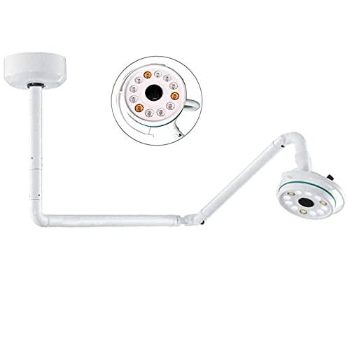ZLRE 36W 360 ° Deckenmontierte LED Chirurgische Untersuchungsleuchte Medizinische Schattenlose Lampe 800mm