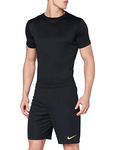 Nike Herren Park Ii Knit Short Nb Kurze Hose, schwarz/Jersey Gold, M