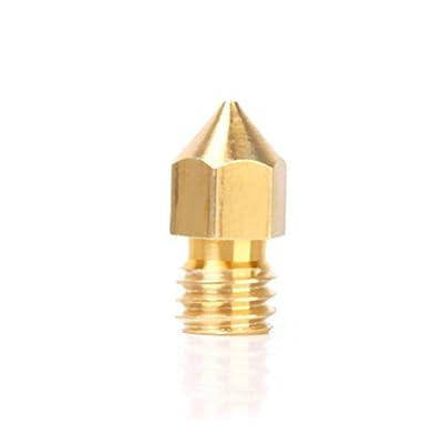 Replacement 0.4mm Extruder Nozzle Print Head for 1.75 Filament 3D Printer