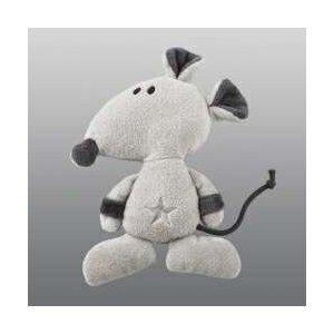 Nici 28999 - Rock Star Baby Ratte 2D mit Rassel Größe: 15 cm