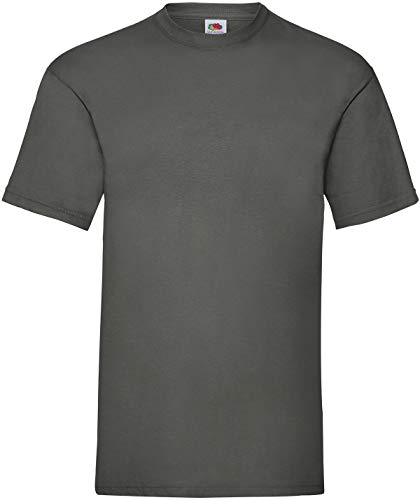 Fruit of the Loom - T-Shirt 'Valueweight T' / Light Graphite, 3XL
