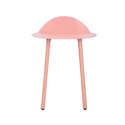 Table d'appoint Côté Fer Table d'appoint créative Petite Table Basse dans Le Salon Table Basse canapé (Couleur : Pink, Taille : 45cm)