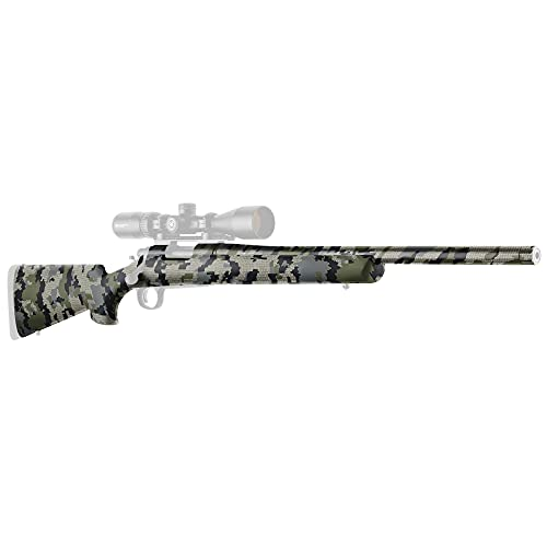 GunSkins Rifle Skin - Premium Vinyl Gun Wrap with Precut Pieces - Easy to Install and Fits Any Rifle...