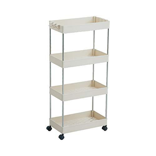 Ruimtebesparend voor de keuken, 2/3/4, bewegende laag, opslag, badkamer, slim, diapo, toren, ruimte, plank van kunststof, zuinig, organizer, keuken.