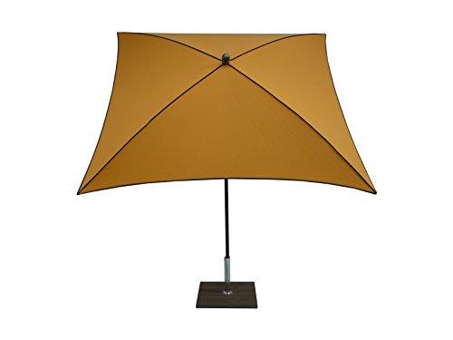 Maffei Art 46BQ Border, Parasol carré cm 200x200, Tissu dralon, Made in Italy. EXCLUSIVITE Couleur mais