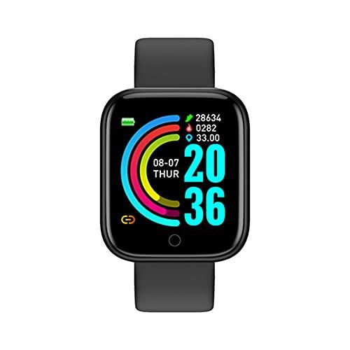 zyz Y68 Smart Watch Sports Fitness Tracker, Presión Arterial Y Monitor De Frecuencia Cardíaca, Impermeable, Bluetooth Smart Pulsera,D
