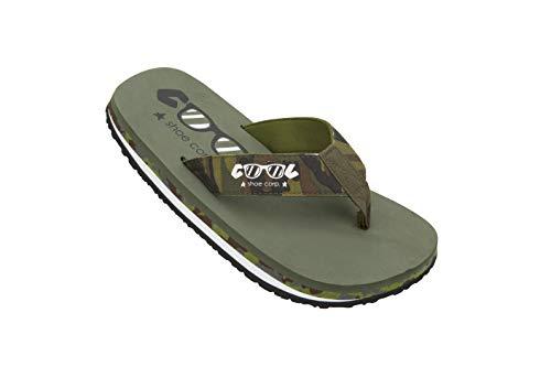 Cool shoe Original, Chanclas Hombre, Verde Oscuro, 41.5 EU