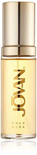 Jovan Gold Musk Eau de Parfum Natural Spray for woman, 1er Pack (1 x 59 ml)