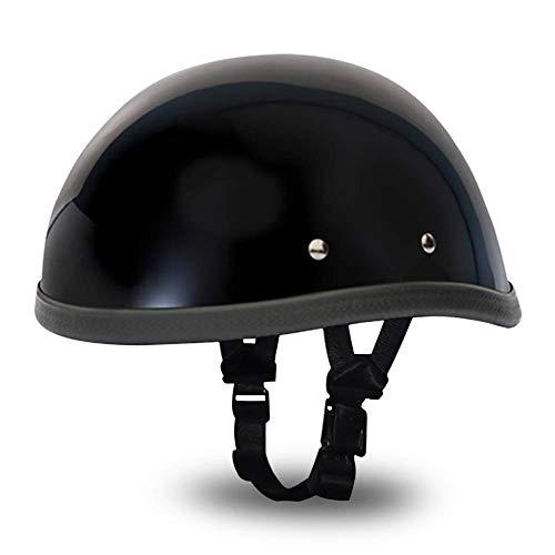 Daytona Helmets Novelty Eagle Hi-Gloss Black, Large