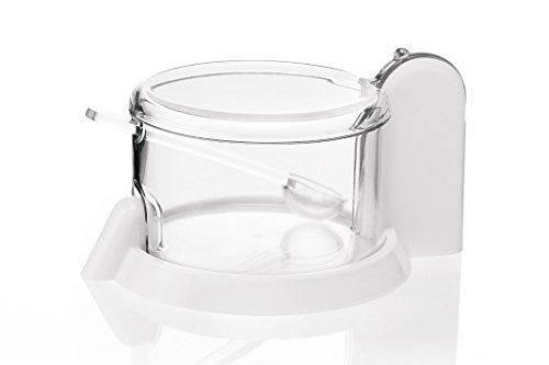 Dotata di cucchiaio Lavabile in lavastoviglie Completamente smontabile Coperchio incernierato