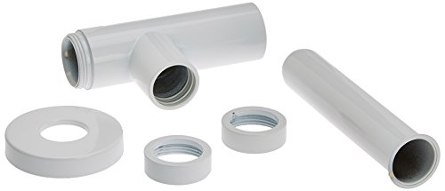 OMP 710135524 sifon voor wastafel, mat wit