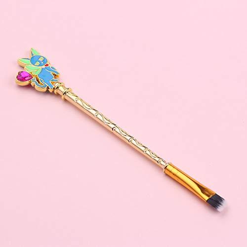 Sakura Sailor Moon maquillage pinceau brosse en poudre lâche pinceau fard à paupières pinceau cadeau d'anniversaire