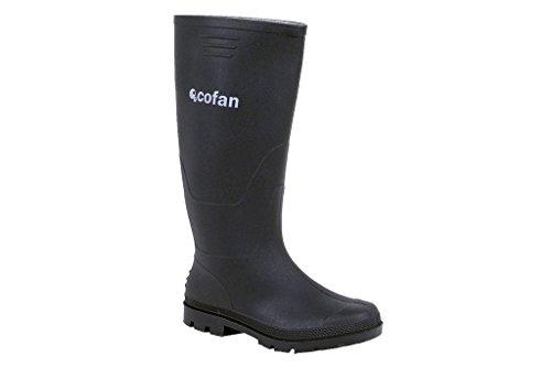 Cofan 12001650 Bota Alta de Agua, Negro, T-50