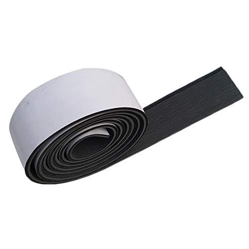 LOVIVER Antirutschmatte Outdoor Bodenbelag aus Eva Schaum 6mm Schutzmatte Aufkleber Teak Bodenbeläge Fußboden Teak - Dunkelgrau