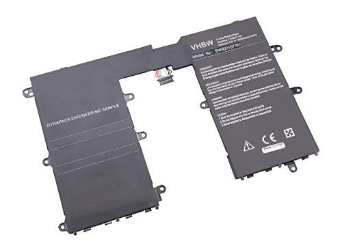 vhbw batería reemplaza HP 733057-421, 733057-421(1ICP4/73/131-2), 740479-001, CD02, HSTNH-L01B para Tablet (8250mAh, 3,75V, polímero de Litio)