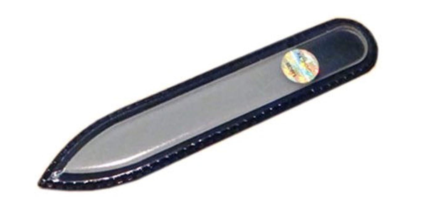 エアコン震え困ったブラジェク ガラス爪やすり 90mm 両面タイプ(プレーン)