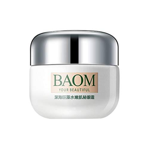 Deep Sea Algae Extract Crema para los ojos Hidratante Anti-hinchazón Círculos oscuros Arrugas, reafirmante de la piel y bolsas - Gel eficaz contra el envejecimiento para ojos Crema
