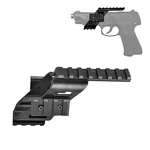 FIRECLUB 2017 nueva llegada universal pistola táctica Alcance vista polímero luz peso pantalla plana con 7/8