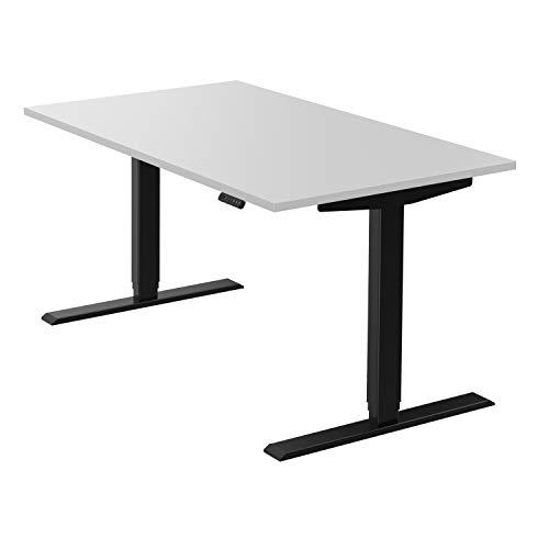 boho office® homedesk - elektrisch stufenlos höhenverstellbares Tischgestell in Schwarz...