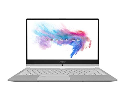 "MSI PS42 Modern 8RA-021ES - Ordenador portátil de 14"" FHD (Intel Whiskylake i7-8565U, 16 GB RAM, 512 GB SDD, GeForce MX250, Windows 10 Pro) Gris - Teclado QWERTY Español"