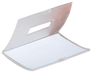 Durable 821219 Namensschild Click Fold mit Magnet (40 x 75 mm) 10 Stück