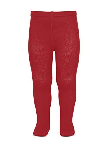 KLOTTZ - Leotardo Colegio Liso Niñas Color: Rojo Talla: 4