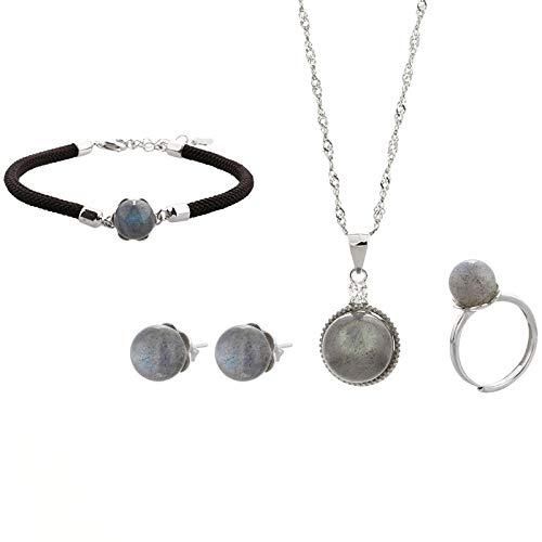 THTHT Mode S 925 sterling zilveren halsketting opening ringen oorbellen vrouwen sieraden maansteen armband retro classic creatief charme high-end cadeau