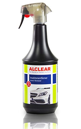 ALCLEAR 721IE Auto Insektenentferner Flugrostentferner Vorreiniger für Autolack, Chrom und Kunststoffteile, 1.000 ml