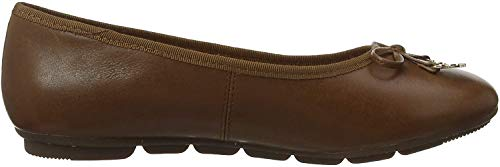 Hush Puppies Abby, Damen Ballerinas, Braun (Brown (Tan 210) 210), 41 EU (7 UK)