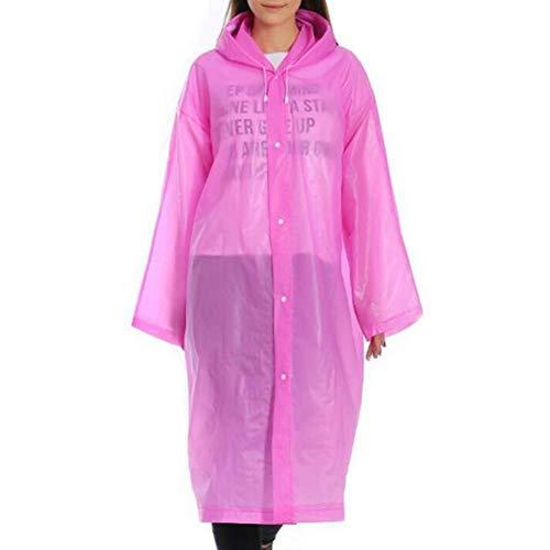 1pc Wegwerp Regenjas voor Volwassenen Unisex Dikker Regenjas Waterdicht Hooded Cover Regenkleding Stofdicht