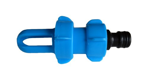 AQWater4all Wasserbett Füll- und Entleerungsadapter BLUE MAGIC mit Gardena-kompatiblem Schlauchanschluss