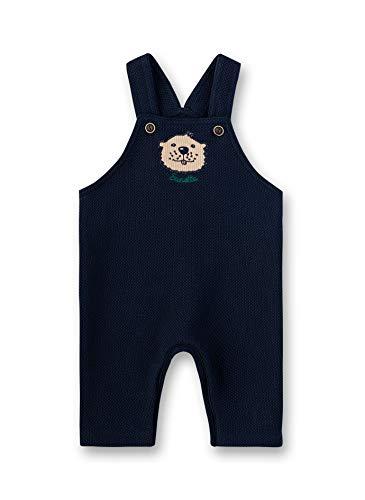 Sanetta Baby-Jungen Dungarees Latzhose, Blau (Shadow Blue 582), 62 (Herstellergröße: 062)