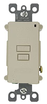Leviton Smartlockpro Blank Face GFCI, With Dual Faunction Indicator Light