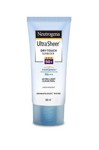 Neutrogena Ultra Sheer Dry Touch Sunblock SPF 50+ Sunscreen For Women And Men, 88ml
