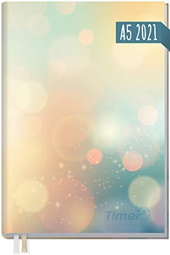 Chäff-Timer Classic A5 Kalender 2021 [Summer Dream] mit 1 Woche auf 2 Seiten | Terminplaner, Wochenkalender, Organizer, Terminkalender mit Wochenplaner | nachhaltig & klimaneutral
