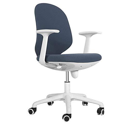 OSALADI vrijetijdsstoel stoelen bureaustoel computerstoel huishouden eenvoudige ergonomie bureaustoel kleine stoel draaistoel student bureaustoel