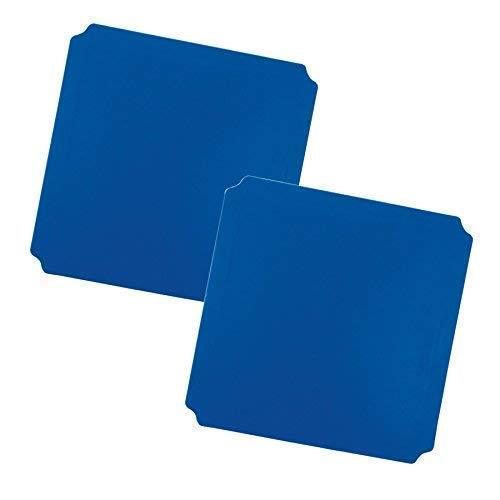 Moveandstic 2er Set Platte blau 40x40 cm