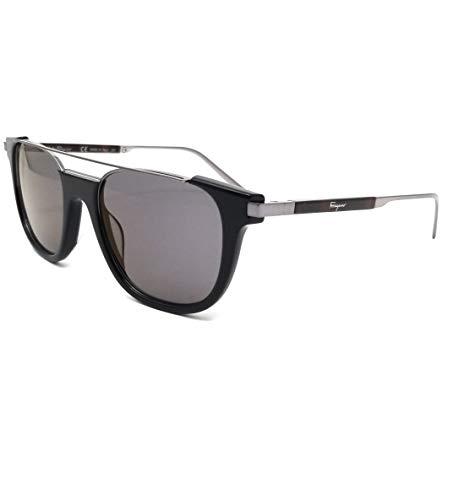 Ferragamo SF160S Gafas de sol, Negro (Schwarz), 52.0 para Hombre