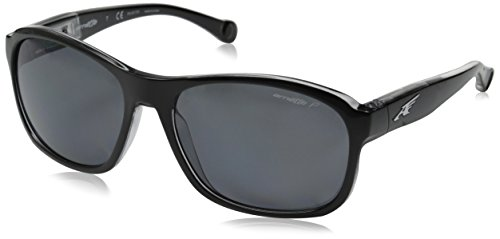Arnette Uncorked gafas de sol, Black On Clear, 59 para Hombre