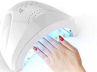 Lámpara de uña UV LED Secadora de uñas de gel con sensor doble velocidad Professional con temporizador.