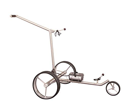 Parccurate Kolibri Edelstahl Lithium Elektrotrolley Golfcaddy, mit Falt-/Zerlege-Design, Basismodell ohne Fernsteuerung - 5