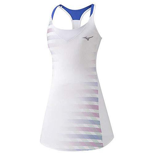 Mizuno Printed Dress Vestido, Mujer, White, S