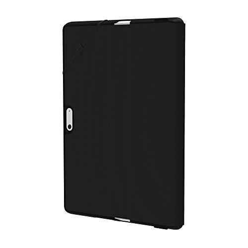Incipio Faraday Folio - Protection à rabat pour tablette - Plextonium, cuir vegan - noir - pour Microsoft Surface Go