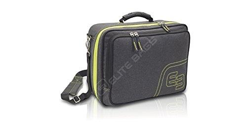 ELITE BAGS, maletín de asistencia domiciliaria, bitono, gris y lima, Urban URB & GO
