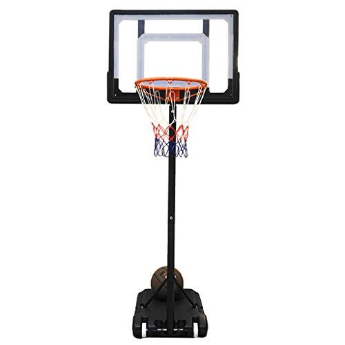 LZL Sistema de Baloncesto portátil Baloncesto Sistema de Baloncesto Equipo de Baloncesto Altura Ajustable Tablero y Ruedas para niños (tamaño : 3.1m)