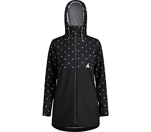 Maloja NangiM Padded Coat Women Größe L Moonless