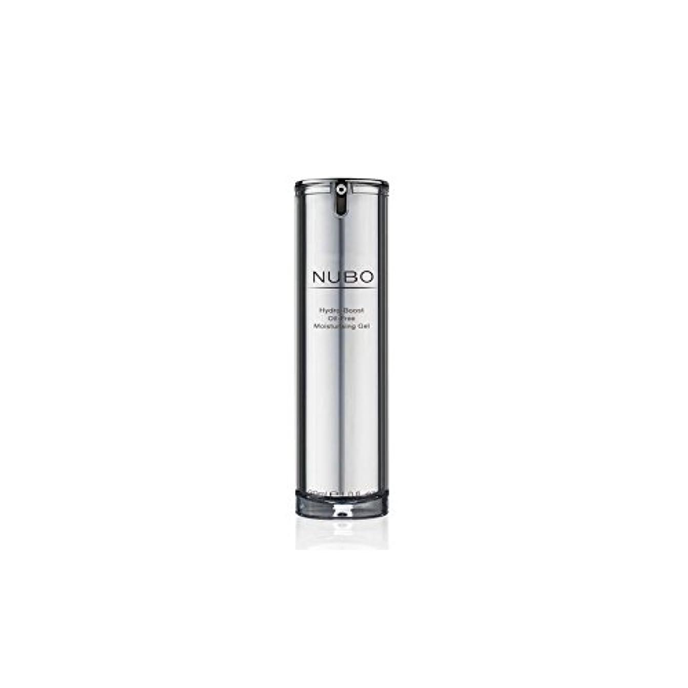 残忍なトークン墓水力ブーストオイルフリーの保湿ジェル(30ミリリットル) x4 - Nubo Hydro Boost Oil Free Moisturising Gel (30ml) (Pack of 4) [並行輸入品]