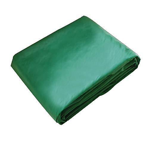 Toldo Lona Alquitranada Plegable Paño de Lluvia Impermeable for Camión Terraza con Ojales A Prueba de Viento Lona Resistente, Verde, 0,4 mm Espesor GHHQQZ (Color : Green, Size : 10x6m)